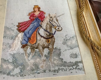 PRINCESS & UNICORN - Cross Stitch Pattern Only