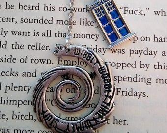 Wibbly Wobbly Timey Wimey Bookmark