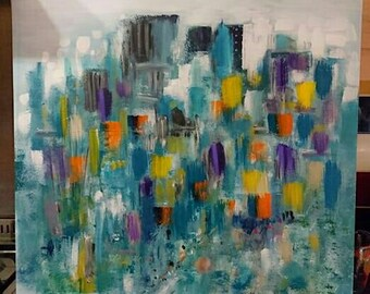 Midtown cityscape SOLD