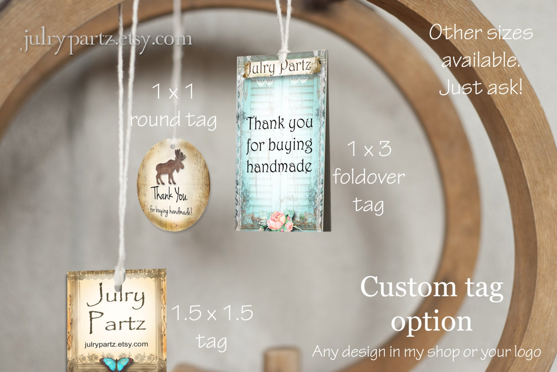 Fresh HANG TAGS•Custom Tags•Labels•Clothing Tags•Custom Hang Tags  VX22