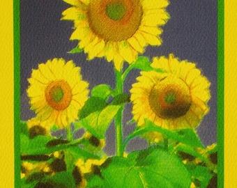 Sunflowers (Flower Card Line)