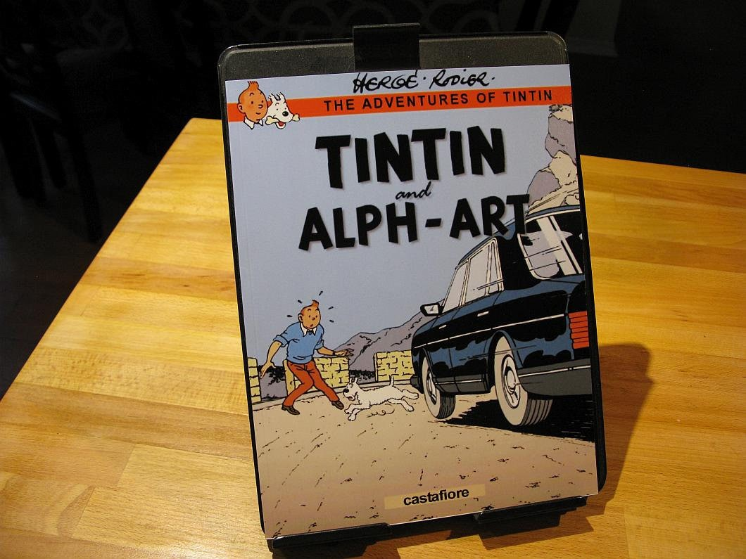 Tintin And Alph Art Softcover 8 511 In