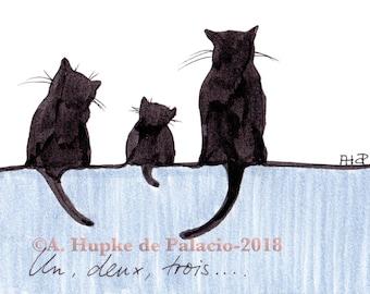 Un, deux, trois - Catfamily