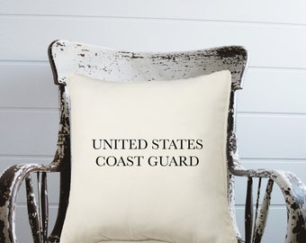 United States Coast Guard Pillow