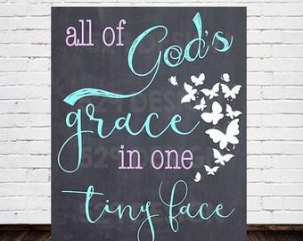 All God's Grace - Butterflies