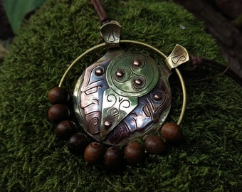 The Ethereal Investigator's Mediation Bead Pendant.
