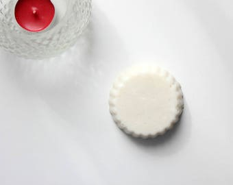 Solid shampoo with Shea butter