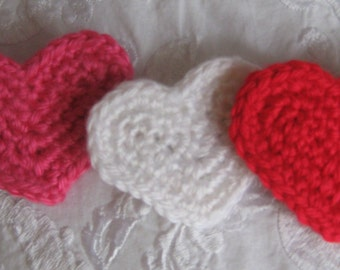 Valentine Heart Hair Clip and /or Brooch