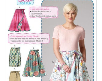Skirt M7129 McCall sewing pattern ' S