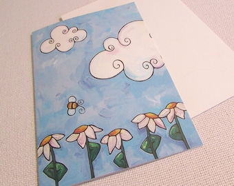 Just Bee Birthday Paper Greeting Card