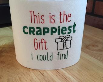 Gag Gift, Christmas Gag Gift, Crappiest Christmas Gift, Naughty Gift, Funny Christmas Gift