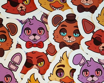 Five Nights at Freddy's Stickers