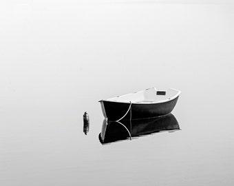 Black Rowboat