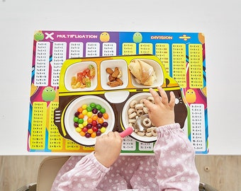 Learning Math- Educational Toddler Placemats
