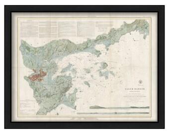 0381-Chart of Salem Harbor 1855