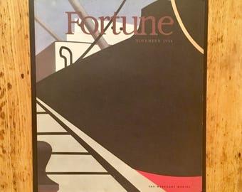 Fortune Magazine cover November, 1944