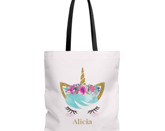 Unicorn Tote Unicorn Tote Bag Unicorn Bag Tote Bag Unicorn Gift Gift For Her Shopping Bag Unicorn Gifts Canvas Tote Bag Grocery Bag Birthday