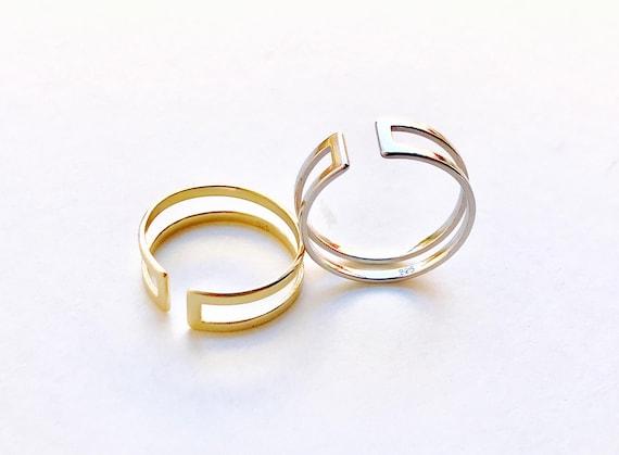 N7 Sterling Silver Ring