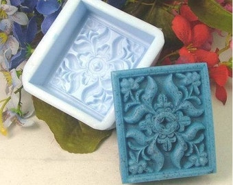 Oblong Silicone Mold Silicone Mould Candy Mold Chocolate Mold Soap Mold Polymer Clay Mold Resin Mold R0360
