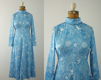 1970s dress | vintage 70s Emilio Borghese dress