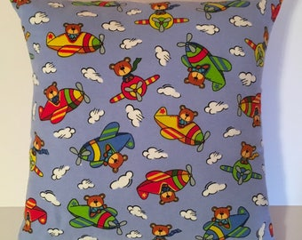 16 x 16 Pillow Cover - Flying Bears