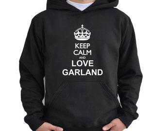 Keep calm and love Garland Hoodie
