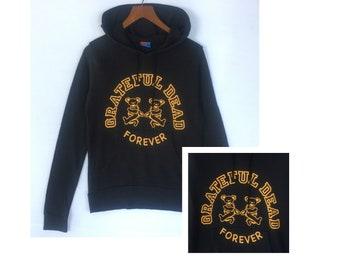 Grateful Dead hoodie sweatshirt pullover vintage clothing men women size