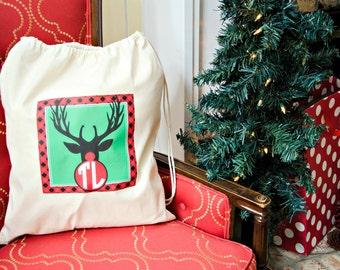 Christmas Drawstring Bags Santa Bags