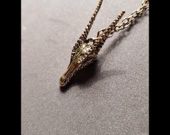 Dragon's Head Necklace