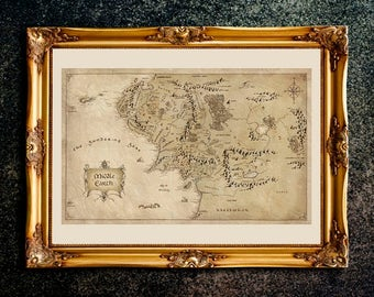 tolkien map middle earth map the lord of the rings the lord of