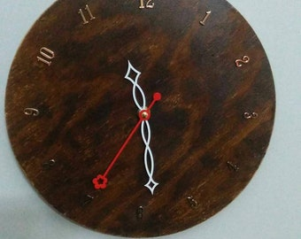 Wood round Counterclockwise
