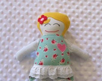 Stella Small Handmade Baby Doll