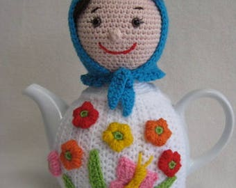 Russian Doll Teacosy PDF CROCHET PATTERN Tea Cosy Matryoshka Babushka