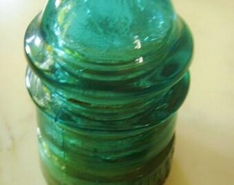 Green Glass Insulator Hemingray Insulator No. 12