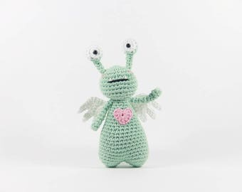 Amor the Monster Crochet Amigurumi Pattern