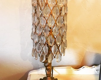 Table Chandelier, Lamp, Shabby Chic