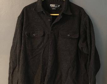 Polo Light Wool Jacket Vintage 90s