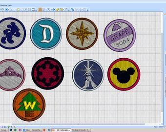 Merit badge Patch - iron-on