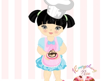 Little Chef Clip Art