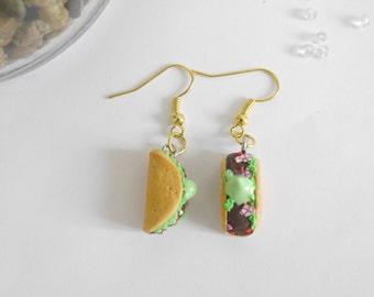 Tacos realilste earrings