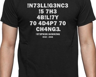 Intelligence Definition Leetspeak T-Shirt