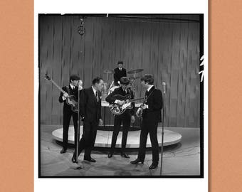 THE BEATLES - The Ed Sullivan Show, 1964 --- Giclée/Photo print