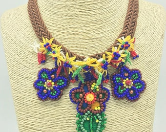 Peppy Special Collection Bead art Necklace