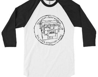 3/4 Ärmel dr. raglan shirt