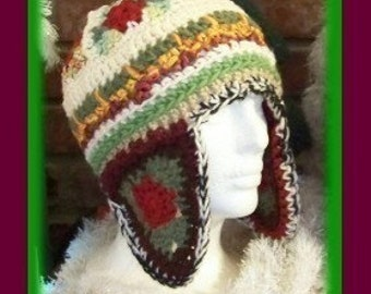 Try Angles Crochet Hat Pattern