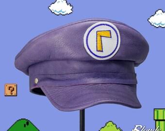 Waluigi Inspired Plumber Cap