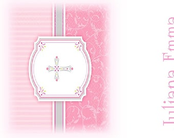 First Holy Communion Nugget Wrappers/Party Favors Girl Designs