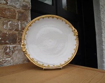 Coronet Gilded Serving Platter