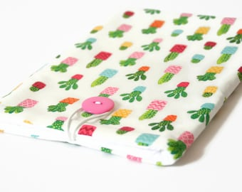 Cactus iPad Pro 10.5 Sleeve, iPad Pro Case for 9.7 and iPad 2017 2018 - Cute Cacti Gift