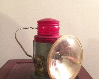 Vintage Delta Electric Company Railroad lantern
